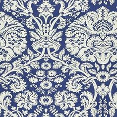 SELBY BLUE - Damask - Shop By Pattern - Fabric - Calico Corners