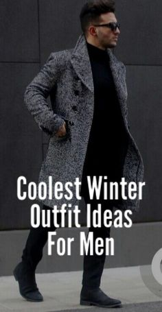 Cool Winter Outfit Ideas. #mensfashion #fallfashion