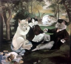 """Luncheon on the Grass (Edouard Manet)"" par Susan Herbert"