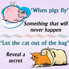 kid idioms | IDIOMS | Pinterest | Kid and Idioms