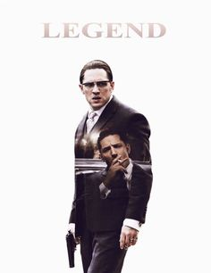 Legend - Fan art for the upcoming gangster film featuring real life London criminals Ronne and Reggie Kray #GangsterMovie #GangsterFlick