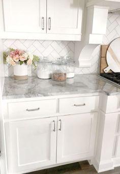 Kitchen Redo, Home Decor Kitchen, Home Kitchens, Kitchen Hacks, Kitchen Layout, Rustic Kitchen, Kitchen Modern, Minimal Kitchen, Functional Kitchen