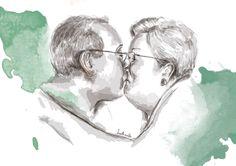 Abuelos - besos vivos -