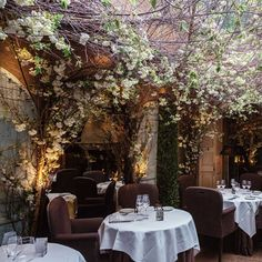 CLOS MAGGIORE, COVENT GARDEN Fall in love with London's most romantic restaurant