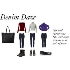 denim daze by styleright on Polyvore featuring Weekend Max Mara, Sportmax, Ralph Lauren Sport, Fendi, Forever 21 and Levi's