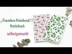 Travelers Notebook / Notizbuch selbstgemacht - YouTube Travelers Notebook, Stampinup, Diy And Crafts, Playing Cards, Bullet Journal, Youtube, Paper, Small Notebook, Book Folding