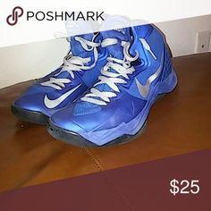 f4233843114c9 Blue Nike Hyper distuptors Lightly used Blue hyper disruptor Nike Shoes  Athletic Shoes Blue Nike