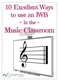 10 Excellent Ways to Use an Interactive Whiteboard in Your Music Classroom 10 Excellent Ways to use an Interactive Whiteboard in the Music Classroom www.midnightmusic… Interactive Whiteboard online course for music teachers: www. Smart Board Activities, Smart Board Lessons, Music Activities, Music Lesson Plans, Music Lessons, Apps, Music Education, Music Teachers, Physical Education