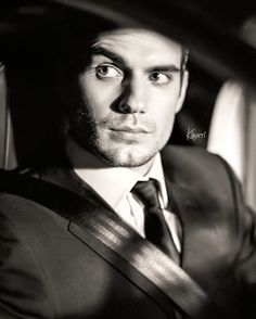 Henry Cavill looking rather sophisticated.
