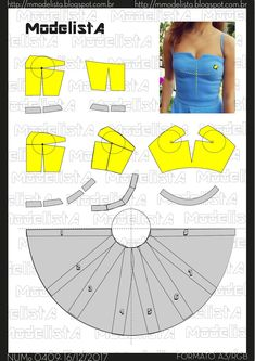 Tremendous Sewing Make Your Own Clothes Ideas. Prodigious Sewing Make Your Own Clothes Ideas. Barbie Patterns, Easy Sewing Patterns, Clothing Patterns, Dress Patterns, Techniques Couture, Sewing Techniques, Fashion Sewing, Diy Fashion, Fashion Details