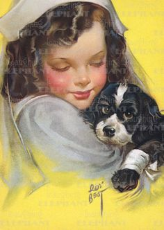 Children & Animals Dogs Editor: Blue Lantern Publishing Girlhood Illustrator: Roy Best Imprint: Laughing Elephant Kindness Nurse Pets'