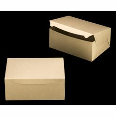 """2382 - 14"""" x 10"""" x 6"""" Brown/Brown Lock & Tab Box without Window, 50 COUNT"""