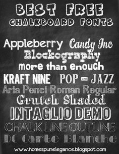 Homespun Elegance: Increase your Blog Traffic Today - Create a Chalkboard Printable {and where you should promote it!}