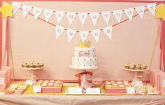 Painel de inspiração rosa e amarelo + Festa infantil   Andrea Velame Blog