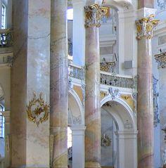 Vierzehnheiligen-Basilika3-Asiocroped - Stuckmarmor – Wikipedia