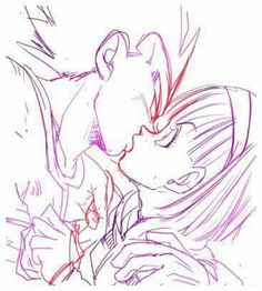 Bulma and Vegeta Dragon Ball Z, Dragon Art, Goku Manga, Vegeta And Bulma, Otaku, Anime Nerd, Bleach Anime, Cool Cartoons, Amazing Art