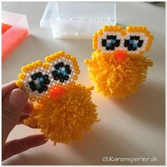 - Perleinspiration til børn og voksne Craft Projects For Kids, Diy And Crafts, Crafts For Kids, Projects To Try, Fuse Beads, Perler Beads, Hama Beads Design, Beads Pictures, Melting Beads