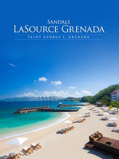 Caribbean Journal named Sandals LaSource the All-Inclusive Resort of the year! Beautiful Vacation Spots, Beautiful Places, Need A Vacation, Vacation Trips, Sandals Grenada, Places To Travel, Places To See, Tourism Website, Aerial Photography