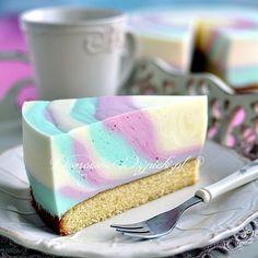 Zebra jogurtowa  http://www.domowe-wypieki.pl/przepisy/ciasta/655-zebra-jogurtowa