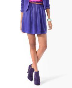 Essential Sueded Skirt w/ Belt $17.80