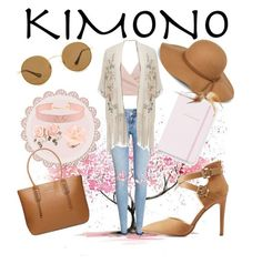 """""""Sweet Kimono"""" by lgayle12518 ❤ liked on Polyvore featuring H&M, Miss Selfridge, Kate Spade, Steve Madden, Johnny Loves Rosie, Dettagli, Dorothy Perkins, Ann Taylor and kimonos"""