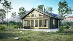 Trollbu - Norske Hus Cabin Homes, Home Fashion, House Styles, Home Decor, Lily, Decoration Home, Room Decor, Interior Decorating