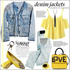 How To Wear Denim Jackets Always in Fashion Outfit Idea 2017 - Fashion Trends Ready To Wear For Plus Size, Curvy Women Over 20, 30, 40, 50