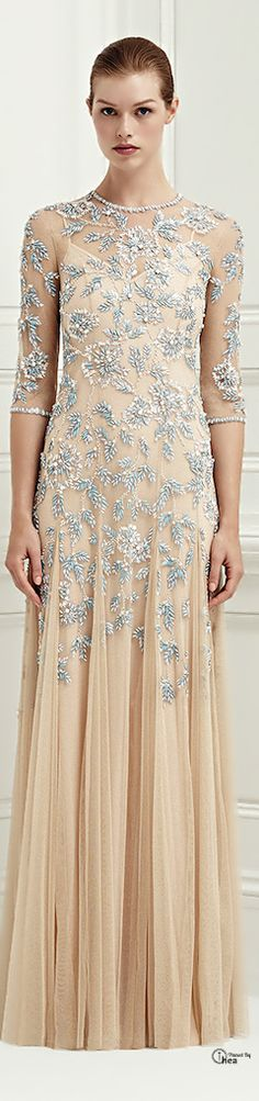Jenny Packham ● Cruise SS 2014 • I could definitely see DK in this.