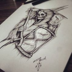 Skull / Death by EdwardMiller