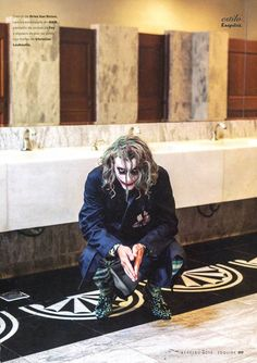 Clément Chabernaud Channels The Joker for Spanish Esquire