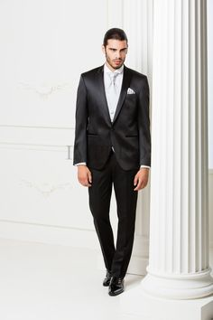 BA 2303-16  #sposo #groom #suit #abito #wedding #matrimonio #nozze #nero #black