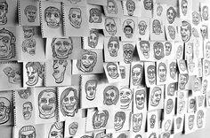 algunos dibujos. Tomás Dintrans