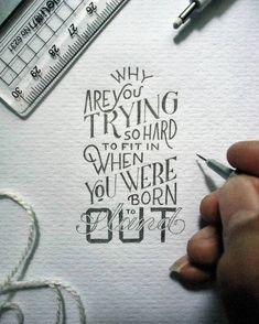 Tiny Hand-Lettered Messages of Motivation Inspire Positive Thinking - My Modern Met