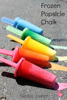 Chalk It Up To It's Playtime - Pinned by @PediaStaff – Please Visit ht.ly/63sNtfor all our pediatric therapy pins