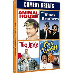 Comedy Greats Spotlight Collection: National Lampoon's Animal House / The Blues Brothers / The Jerk / Car Wash