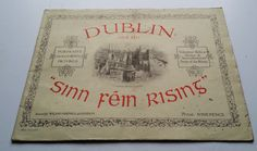 1916 'Dublin And The Sinn Fein Rising'-Irish War News No.1-Volunteers GPO Pearse in Books, Comics & Magazines, Antiquarian & Collectable | eBay