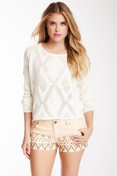 View Finder Crop Sweater on HauteLook