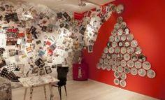 I piatti di Piero Fornasetti in mostra a Milano