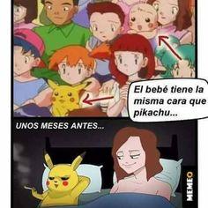 #pokemon #memes Super Funny Memes, Stupid Memes, Memes Estúpidos, Otaku Meme, Pokemon Memes, Catch Em All, Rule 34, Family Guy, Fandoms