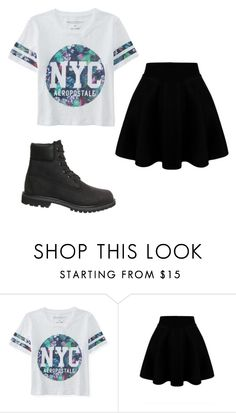 """""""Untitled #169"""" by lovelyprincess2 ❤ liked on Polyvore featuring Aéropostale, Timberland, women's clothing, women, female, woman, misses and juniors"""