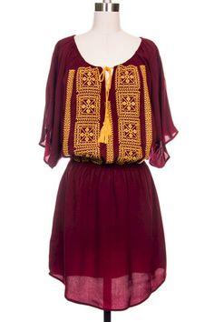 Garnet & Gold FSU Gameday Dress