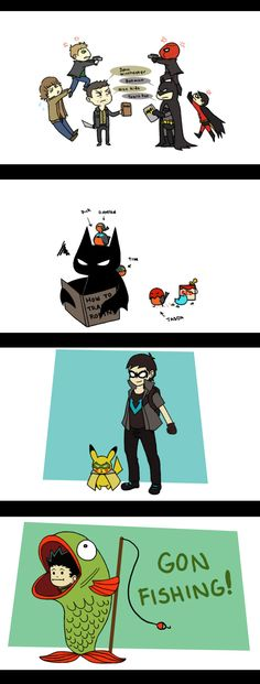 HOW TO TRAIN A ROBIN!!!!    Tumblr Requests November2011 by ~CrimsonHorror on deviantART