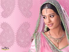 Amrita Rao in Pink from the Movie, Vivah.