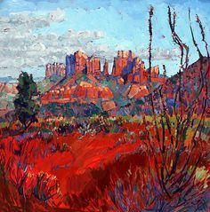 Sedona Reds ~ Artist:Erin Hanson