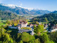 Gruyères, Szwajcaria