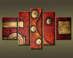 hand painted Abstract oil painting 5 panels modern Wall home decor Wall Decorative Canvas Art Picture for living room Oil Painting Abstract, Texture Painting, Abstract Canvas, Canvas Wall Art, Oil Paintings, Creation Deco, Colorful Paintings, Geometric Art, Art Pictures