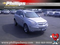 3 Day Money Back Guarantee on all Certified Pre-Owned vehicles at Phillips Chevrolet. Chevrolet Captiva Sport, Chicago, Car Ins, Illinois, Chevy