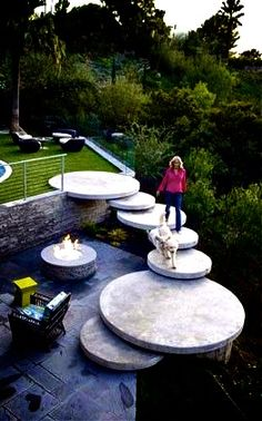 The Best 23 DIY Ideas to Make Garden Stairs and Steps, adding DIY steps and stairs to your garden or yard is a great way to beautify your outdoor scenery, regardless of . The Best 23 DIY Ideas to Make Garden Stairs and Steps Hochzeitskleid hochze Outdoor Gardens, Indoor Outdoor, Outdoor Living, Outdoor Decor, Outdoor Fabric, Outdoor Stone, Garden Stairs, Garden Beds, Outdoor Stairs