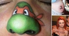 What could have possessed these people to make these tattoos permanent? Cringe!  | From 98gag