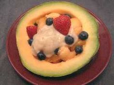 Fruit Filled Cantaloupe | Breakfast-and-Brunch-Recipes.com